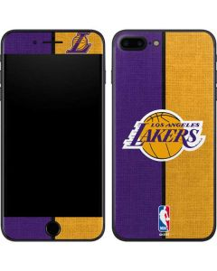 Los Angeles Lakers Canvas iPhone 8 Plus Skin