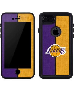 Los Angeles Lakers Canvas iPhone 8 Waterproof Case