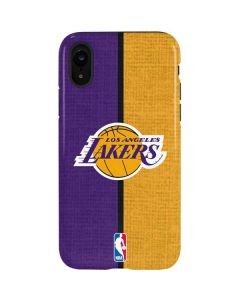 Los Angeles Lakers Canvas iPhone XR Pro Case