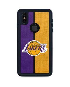 Los Angeles Lakers Canvas iPhone XS Waterproof Case