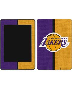 Los Angeles Lakers Canvas Amazon Kindle Skin