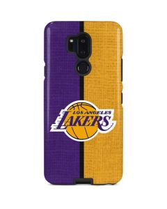 Los Angeles Lakers Canvas LG G7 ThinQ Pro Case