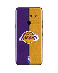 Los Angeles Lakers Canvas LG G8 ThinQ Skin