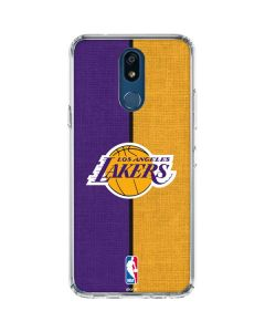 Los Angeles Lakers Canvas LG K30 Clear Case