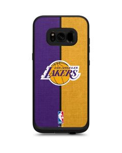 Los Angeles Lakers Canvas LifeProof Fre Galaxy Skin
