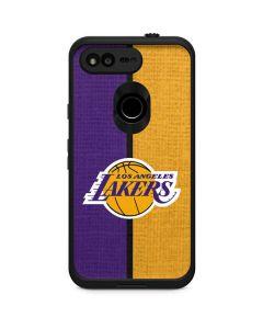 Los Angeles Lakers Canvas LifeProof Fre Google Skin