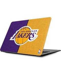 Los Angeles Lakers Canvas Apple MacBook Skin