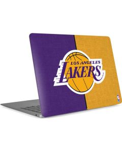 Los Angeles Lakers Canvas Apple MacBook Air Skin