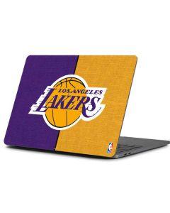 Los Angeles Lakers Canvas Apple MacBook Pro 13-inch Skin