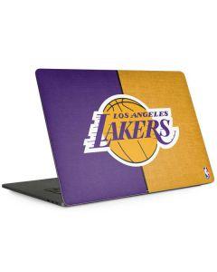 Los Angeles Lakers Canvas Apple MacBook Pro 15-inch Skin