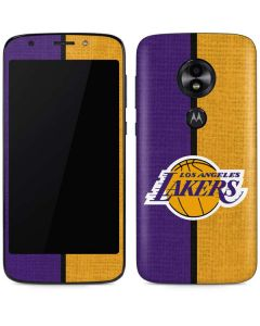 Los Angeles Lakers Canvas Moto E5 Play Skin