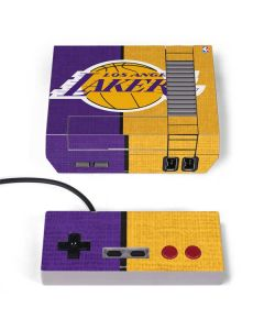 Los Angeles Lakers Canvas NES Classic Edition Skin