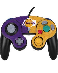 Los Angeles Lakers Canvas Nintendo GameCube Controller Skin
