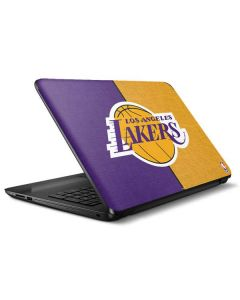 Los Angeles Lakers Canvas HP Notebook Skin