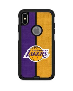 Los Angeles Lakers Canvas Otterbox Commuter iPhone Skin