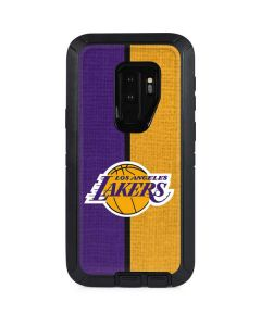Los Angeles Lakers Canvas Otterbox Defender Galaxy Skin