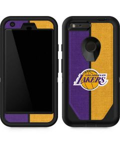 Los Angeles Lakers Canvas Otterbox Defender Pixel Skin