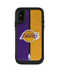 Los Angeles Lakers Canvas Otterbox Pursuit iPhone Skin