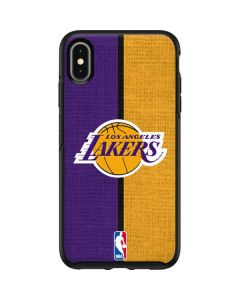Los Angeles Lakers Canvas Otterbox Symmetry iPhone Skin