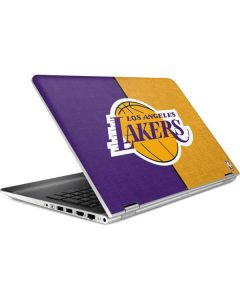 Los Angeles Lakers Canvas HP Pavilion Skin