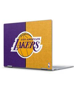 Los Angeles Lakers Canvas Pixelbook Skin