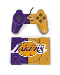 Los Angeles Lakers Canvas PlayStation Classic Bundle Skin