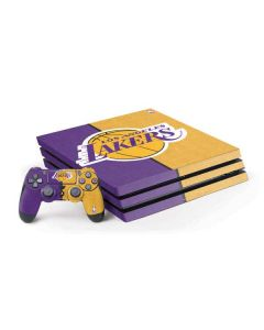 Los Angeles Lakers Canvas PS4 Pro Bundle Skin