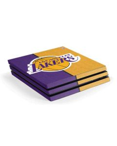 Los Angeles Lakers Canvas PS4 Pro Console Skin