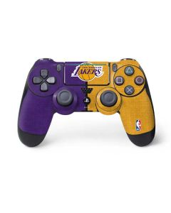Los Angeles Lakers Canvas PS4 Pro/Slim Controller Skin