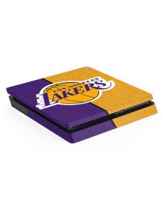 Los Angeles Lakers Canvas PS4 Slim Skin