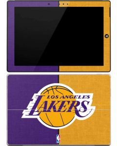 Los Angeles Lakers Canvas Surface 3 Skin