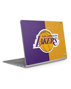 Los Angeles Lakers Canvas Surface Book 2 13.5in Skin