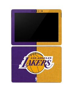 Los Angeles Lakers Canvas Surface Go Skin