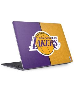 Los Angeles Lakers Canvas Surface Laptop 2 Skin