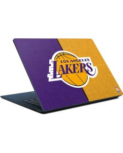 Los Angeles Lakers Canvas Surface Laptop Skin