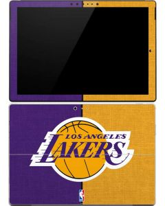 Los Angeles Lakers Canvas Surface Pro 4 Skin