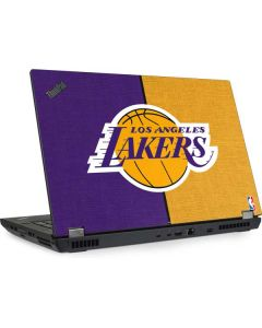 Los Angeles Lakers Canvas Lenovo ThinkPad Skin