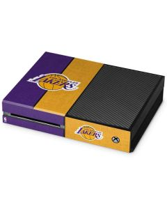 Los Angeles Lakers Canvas Xbox One Console Skin