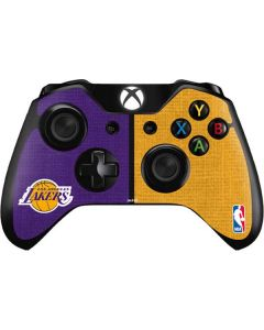 Los Angeles Lakers Canvas Xbox One Controller Skin