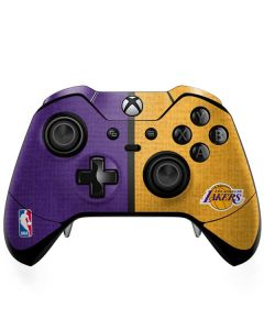 Los Angeles Lakers Canvas Xbox One Elite Controller Skin