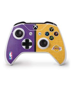 Los Angeles Lakers Canvas Xbox One S Controller Skin