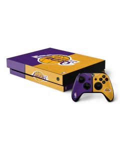 Los Angeles Lakers Canvas Xbox One X Bundle Skin