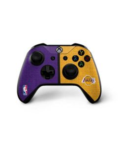 Los Angeles Lakers Canvas Xbox One X Controller Skin