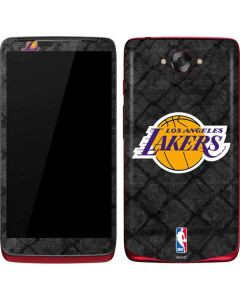 Los Angeles Lakers Dark Rust Motorola Droid Skin