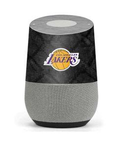 Los Angeles Lakers Dark Rust Google Home Skin