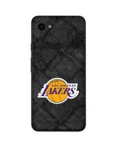 Los Angeles Lakers Dark Rust Google Pixel 3a Skin