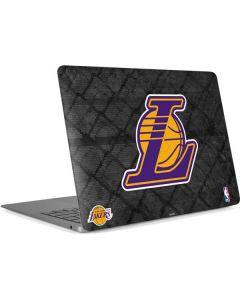 Los Angeles Lakers Dark Rust Apple MacBook Air Skin