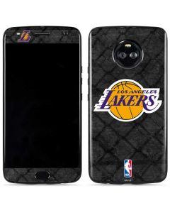 Los Angeles Lakers Dark Rust Moto X4 Skin