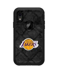 Los Angeles Lakers Dark Rust Otterbox Defender iPhone Skin