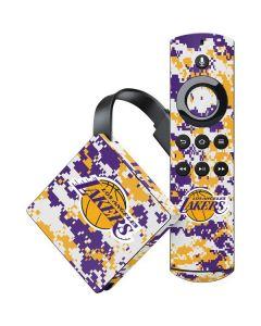 Los Angeles Lakers Digi Camo Amazon Fire TV Skin